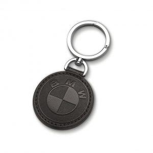 Кожаный брелок BMW, Black