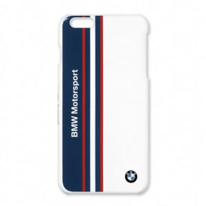 Жесткий чехол BMW Motorsport для Apple iPhone 5/5S, White