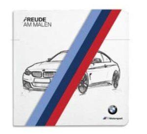 Книжка-раскраска BMW M Motorsport
