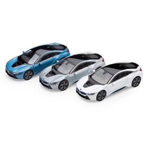 Миниатюрная модель BMW i8 (i12), 3 цвета на выбор, масштаб 1:64