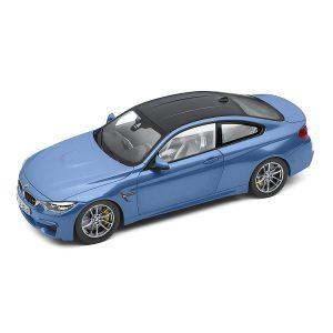 Миниатюрная модель BMW M4 Coupe, Blue, масштаб 1:18