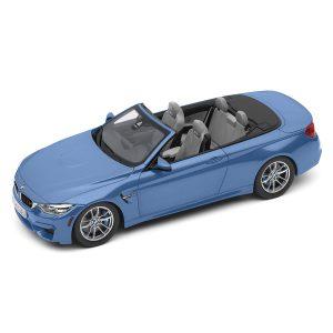 Миниатюрная модель BMW M4 F83 Convertible, Blue, масштаб 1:18