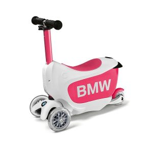 Детский самокат BMW, White / Raspberry