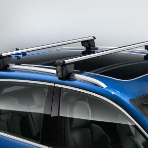 Багажные дуги Audi Q5 / SQ5 (8Y), для автомобилей с релингом крыши