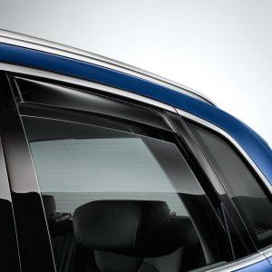 Дефлекторы на двери Audi Q5 / SQ5 (8Y), задние