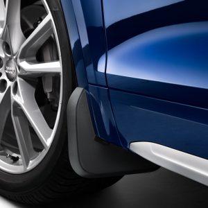Брызговики передние Audi Q5 (8Y), для автомобилей с пакетом S-Line