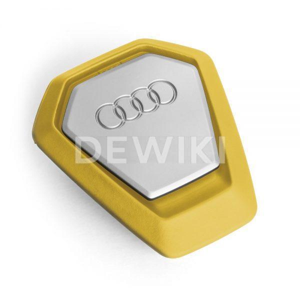 Ароматизатор воздуха в салон Audi Singleframe Fragrance Dispenser, Yellow/Silver