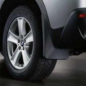 Брызговики задние BMW E70 X5, M пакет