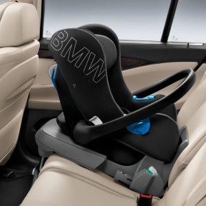 Детское кресло BMW Baby Seat группа 0+, Black/Anthracite