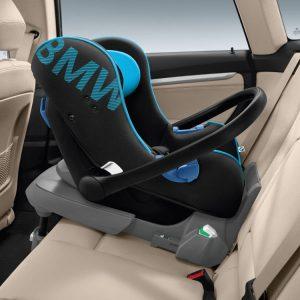 Детское кресло BMW Baby Seat группа 0+, Black/Blue