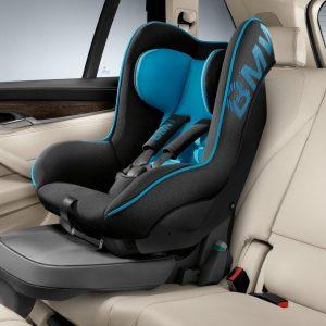 Детское кресло BMW Junior Seat группа 1, Black/Blue