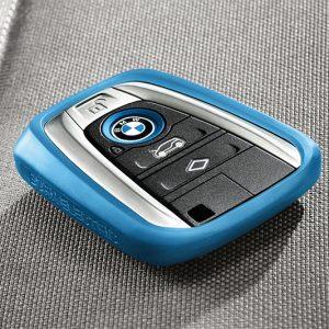 Чехол для ключа BMW i3, Blue