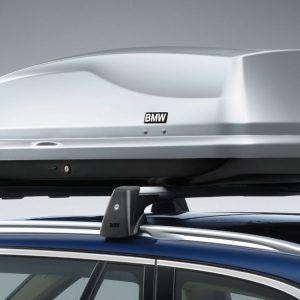 Верхний багажный бокс BMW, 350 литров, серебристый