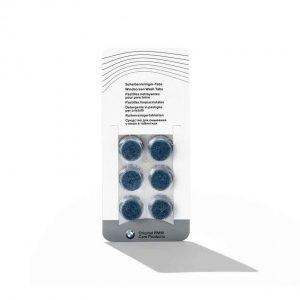 Таблетки для чистки стекол без средства от замерзания, 6 шт