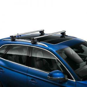 Багажные дуги Audi Q3 (F3), для автомобилей с релингом крыши