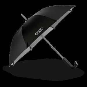 Маленький зонт-трость Audi, Black/Titan