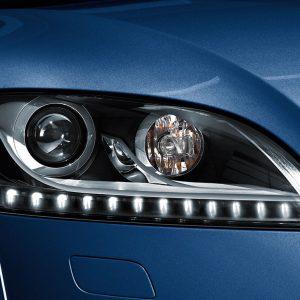 Дооснащение светодиодными фарами Audi TT, для автомобилей с поворотным светом