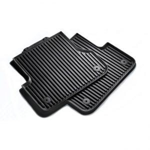 Резиновые задние коврики Audi А4 (8K)