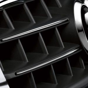 Хромированные накладки решетки радиатора Audi A4 / A4 Avant
