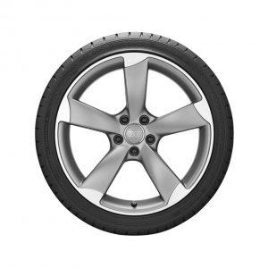 Летнее колесо в сборе Audi A4/S4, Titanium / Matt, 255/35 R19 96Y XL, 8,5J x 19 ET43