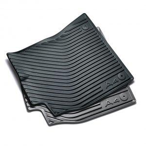 Резиновые передние коврики Audi А4 (8K)
