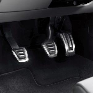 Накладки на педали Audi A4/S4 (8K/B8), A5/S5 (8T), A6/S6 (4G/C7), Q5 (8R), для МКПП