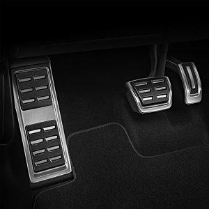 Накладки на педали Audi A4/S4 (8K/B8), A5/S5 (8T), Q5 (8R), для АКПП c опорой для ног S-line