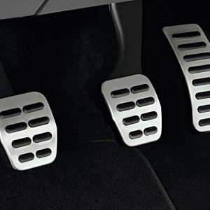 Накладки на педали Volkswagen Polo 5, для автомобилей с МКПП