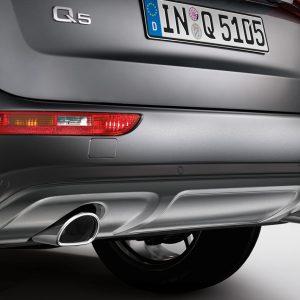 Комплект дооснащения Offroad Audi Q5 (8R), для автомобилей с выхлопной трубой, слева/справа, и без системы помощи при парковке «plus»