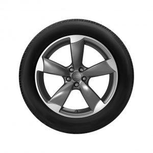 Летнее колесо в сборе Audi Q5, Titanium / Matt, 255/45 R20 101W, 8,5J x 20 ET33