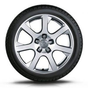 Зимнее колесо в сборе 235/65 R17 104H Dunlop SP Winter Sport 3D AO Левое