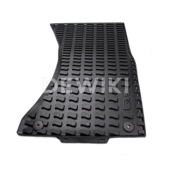 Резиновые передние коврики Audi Q5 (8R)