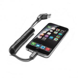 Адаптерный провод USB, для мобильных оконечных устройств с разъемом Apple Lightning, прямым