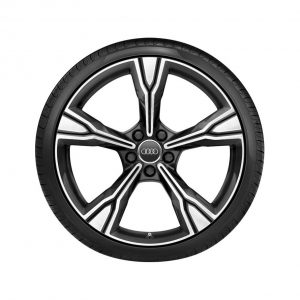 Летнее колесо в сборе Audi TT, Matt black / High-gloss, 255/30 R20 92Y, 9J x 20 ET42