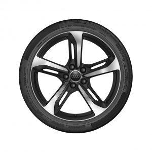 Летнее колесо в сборе Audi TT, Black / High-gloss, 245/35 R19 93Y XL, 9J x 19 ET52