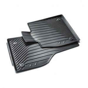 Резиновые передние коврики Audi TT (8S)
