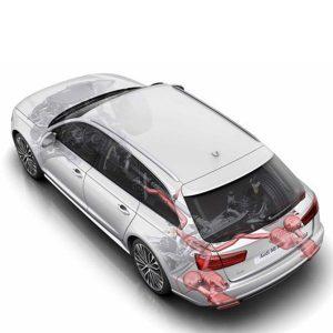 Система звучания двигателя Audi A4/A5, базовый пакет