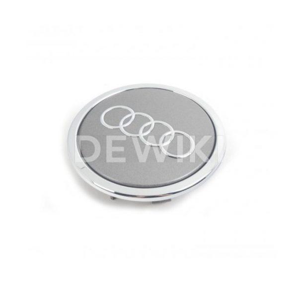 Колпачок ступицы колеса Audi Q3, серый металлик