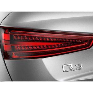 Комплект дооснащения задних фонарей светодиодными лампами Audi Q3, прозрачное стекло