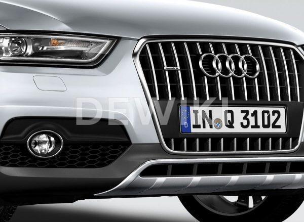 Бампер передний Audi Q3 (8U), для автомобилей с системой Einparkhilfe и без системы Parkassistent