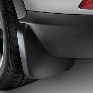 Брызговики задние Audi Q3 (8U), для автомобилей с пакетом S-Line