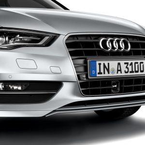 Передний спойлер с накладкой Audi A3 (8V) / Sportback (8V)