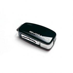 Пластиковая крышка для ключа Audi quattro Design Brilliant Black