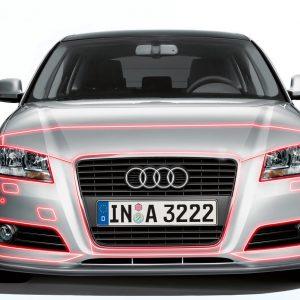 Защитная пленка для передней части Audi A3 (8V)