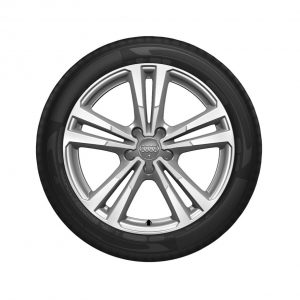 Летнее колесо в сборе Audi A3/S3, Brilliant silver / Polished, 225/40 R18 92Y XL, 7,5 J x 18 ET51