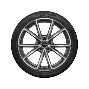 Летнее колесо в сборе Audi A3/S3, Titanium high-gloss, 235/35 R19 91Y X, 8J x 19 ET49