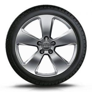 Зимнее колесо в сборе 205/50 R17 93H Dunlop SP Winter Sport 3D AO Левое