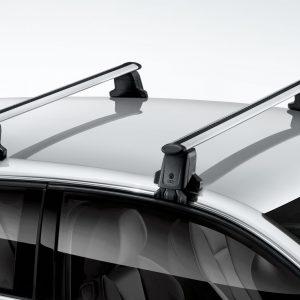 Багажные дуги Audi A3/S3 (8V) с 2013 года, для автомобилей без релинга крыши