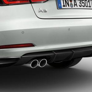 Спойлер заднего бампера Audi A3 Sportback (8V)