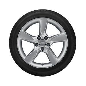 Зимнее колесо в сборе 205/50 R17 93H Dunlop SP Winter Sport 3D AO Правое